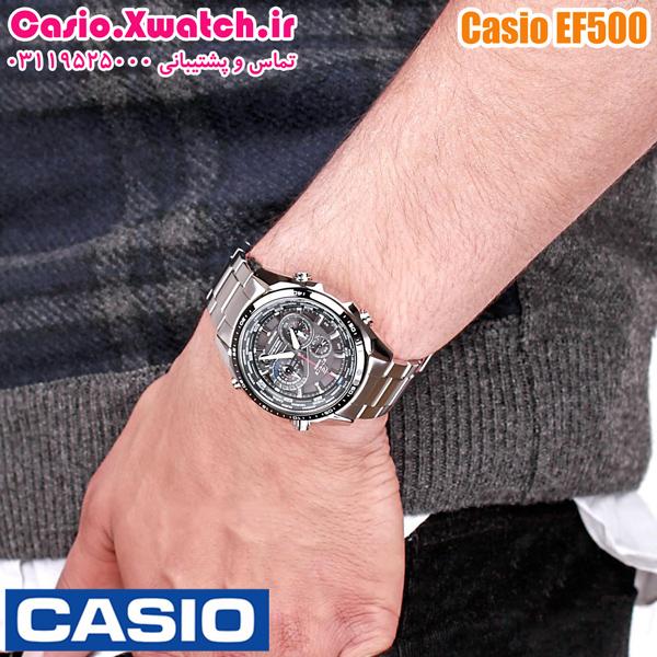 ساعت کاسیو ef 500