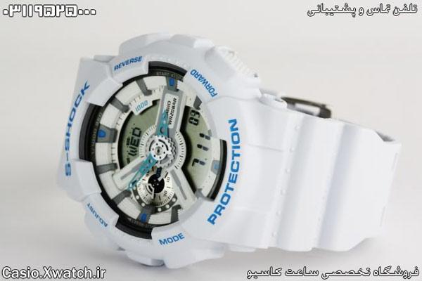 ساعت کاسیو رنگ سفید